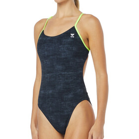 TYR W's Sandblasted Cutouttfit Swimsuit Durafast One Black